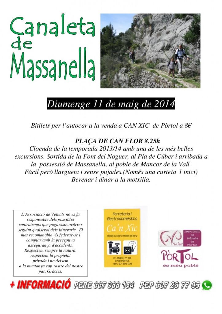Excursió Sa Canaleta 2014