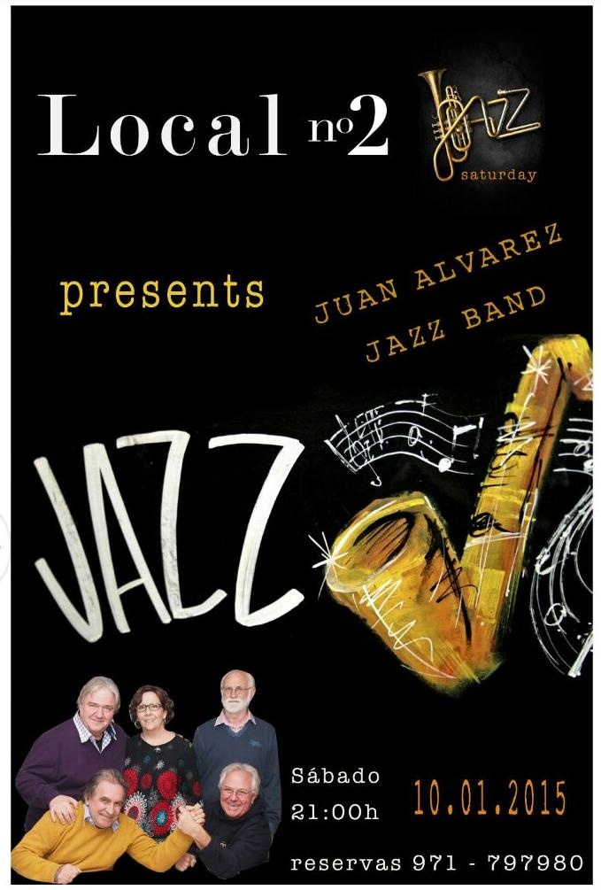 Concert Joan Álvarez Jazz Band